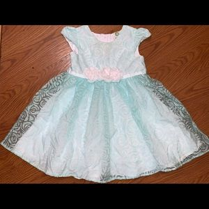 Little me Dress Size 24 months euc
